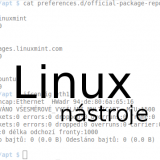 Linuxové násroje hlavičkový obrázek