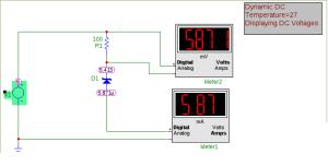 Zenerova dioda v závěrném směru
