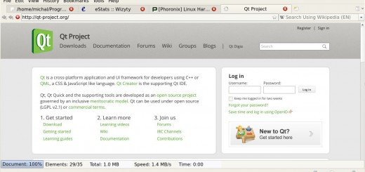 Otter webový prohlížeč