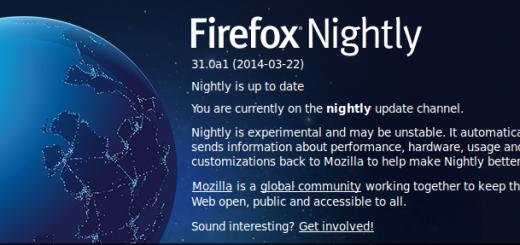 Firefox nové uživatelské rozhraní